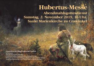 Hubertusmesse in Crawinkel